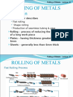 Note 12 - Rolling of Metal