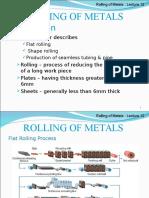 Note 12 - Rolling of Metal