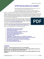 PDF Security