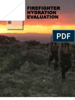 Firefighter Hydration Evaluation