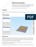 Simplify3d-Docs Resumo Dos Comandos English