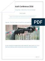 MUN Small Arms Trade