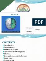 Brain Gate Ppt