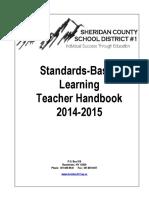 2014-15 standards based learning teacher handbook