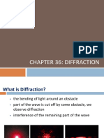 Chapter 36 Diffraction