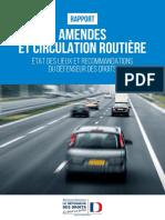 Amendes et circulation routière. Le rapport de Jacques Toubon