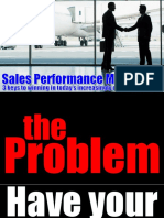 sales performance motivation