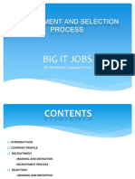 Recruitment & Selection Process By Big It Jobs
