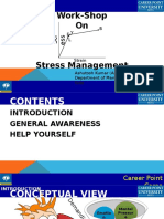 Stress Management Work-Shop for Faculties by Ashutosh Kumar