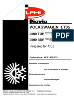 Manual Volkswagen Lt 35 2.5 Sdi