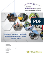 Household Travel Survey Full Report July 2013