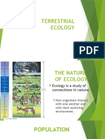 Terrestrial Ecology Lecture 1
