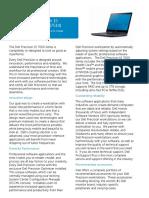 Dell Precision 15 7000 Series (M7510) Mobile Workstation Spec Sheet
