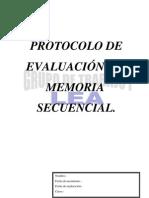 Protocolo de Memoria Secuencial