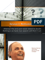 Research Methodolgy