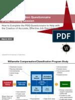 Position Description Questionnaire (PDQ)_Creation of Effective Job Descriptions