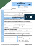 Formulario 790 006 Es Es