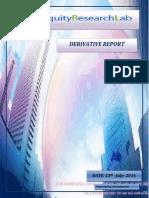 Derivatives Report 2016-07-13