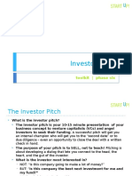 Pitch_Investor Pitch Toolkit