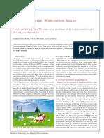 """Progress on Large, Wide-screen Image Presentation""  fe0018"