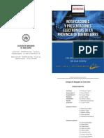 Cuadernillo Notificaciones y Presentaciones Electronicas