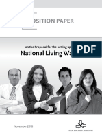 MEA Position Paper on the Living Wage[1]