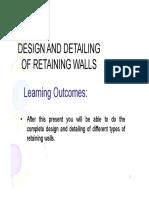 RetainingWal KM