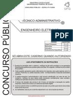 PROVA ENGENHEIRO ELETRICISTA