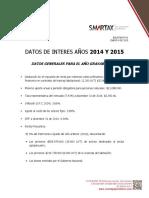 Boletín Informativo Bt 01 Enero Datos Generales 015