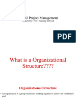 Organizational Structure Study