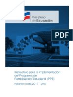 Instructivo PPE Costa 16-17