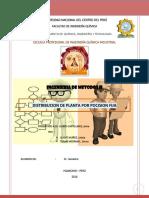 Distribucion de Planta-posicion Fija
