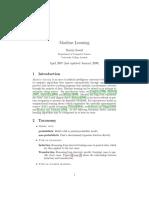119386129 Machine Learning
