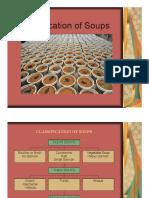Classification of Soups Slides
