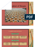 Classification of Soups Slides