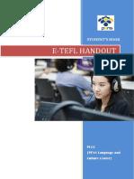 E-tefl Handout (Student's Book)