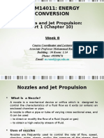 Nozzles and Jet Propulsion