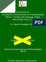 El Proceso de Evaluación e Intervención en Fonoaudiología