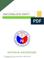 Nacionalista 2nd Version