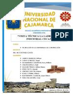 Ladrillos Cecaj Cajamarca