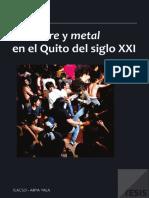 Hardcore y Metal en El Quito Del Siglo XXI