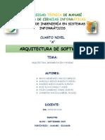 Arquitectura Implementacion y Pruebas