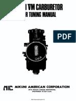 Mikuni Vm Manual