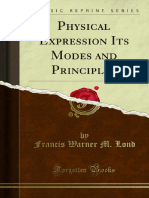 Physical Expression Its Modes and Principles 1000161098