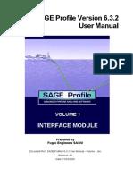 SAGE Profile V6.3.2 User Manual - Volume 1