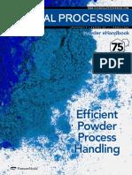 CP-Efficient Powder Process Handling
