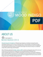 Mood Indigo Sponsorship Brochure