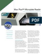 SpectraMax Plus384 Datasheet Rev F