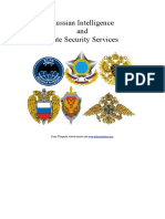 9700393 RUSSIA 7 Intelligence and State Security