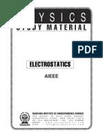 12 InShort Electrostatics-Narayan
